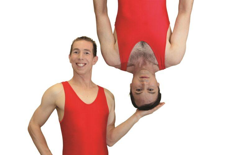 handundstand komik akrobatik akromedy pressebild 2