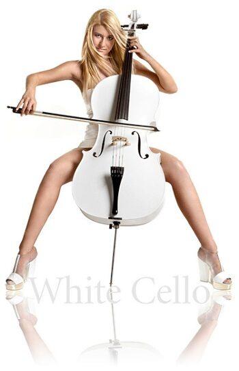 Bild: White Cello Liz Schneider